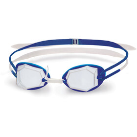Head Diamond Standard Maschera, white - blue - clear